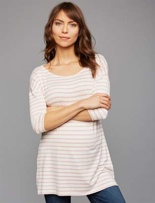 Isabella Oliver Pea Collection A-line Maternity T Shirt