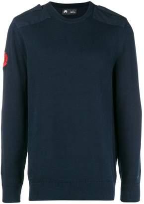 Nike shoulder epaulet sweater