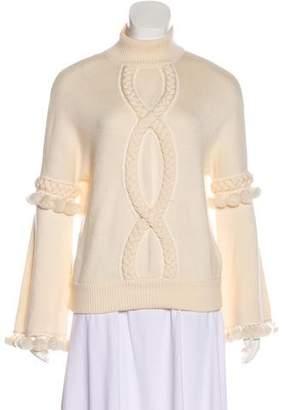 Andrew Gn Virgin Wool Oversize Sweater