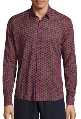 Vilebrequin Anchor Pattern Shirt