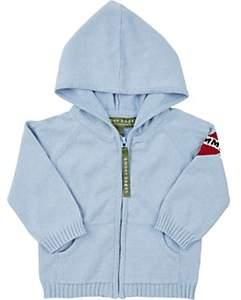 Amber Hagen Infants' Heart Mommy Hoodie - Blue