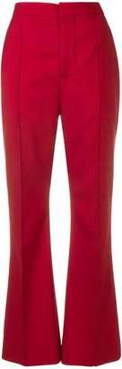 Marni high rise flared trousers