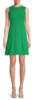 Julia Jordan Sleeveless A-Line Pleat Dress