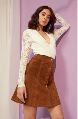 Next Womens Vila Long Sleeve Lace Bodysuit 19c5f6e8d