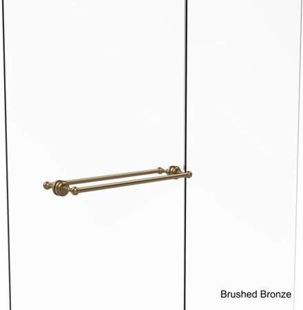 Allied Brass Dottingham Collection 24-inch Back-to-back Shower Door Towel Bar