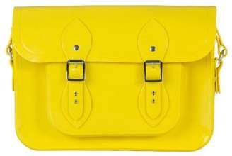Melissa New Womens Yellow Cambridge Satchel Co. Pu Handbags