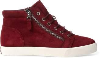 Ralph Lauren Reace Suede Sneaker