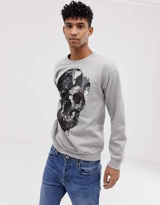Bolongaro Trevor paisley skull print sweatshirt