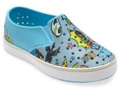 Native Kid's Miles Printed Slip-Ons