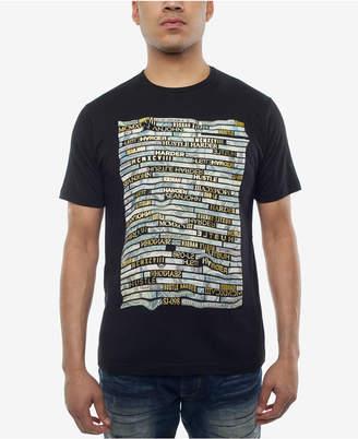 Sean John Men's Money Hustle Metallic-Print T-Shirt, Created for Macy's