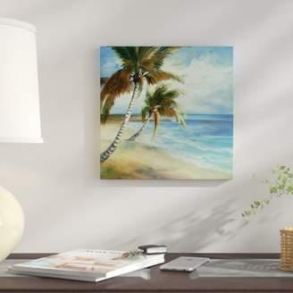 East Urban Home 'Tropical V' Print on Canvas