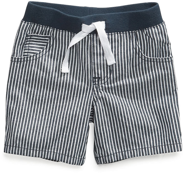 First Impressions Baby Shorts, Baby Boys Denim Shorts