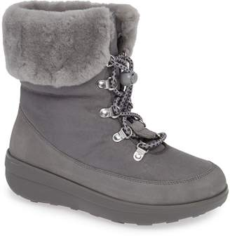 FitFlop Holly Waterproof Genuine Shearling Lined Bootie