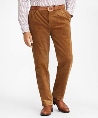 Brooks Brothers Elliot Fit Wide Wale Stretch Corduroys