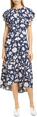 Kate Spade Splash Midi Dress