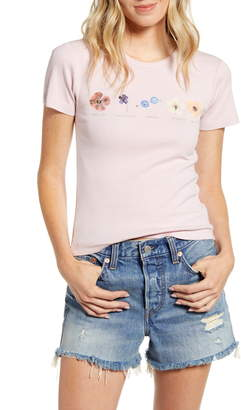 BDG Urban Outfitters Flower Row Tee