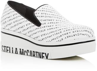 Stella McCartney Women's Binx Slip-On Platform Wedge Sneakers