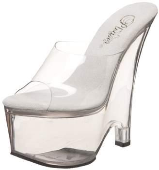 Pleaser USA Women's Beau-601 Platform Wedge Sandal