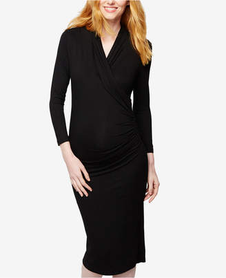 5ea0dbedf09 Isabella Oliver Maternity Wrap Dress