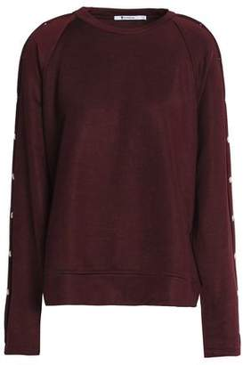 Alexander Wang Snap-Detailed Terry Sweatshirt