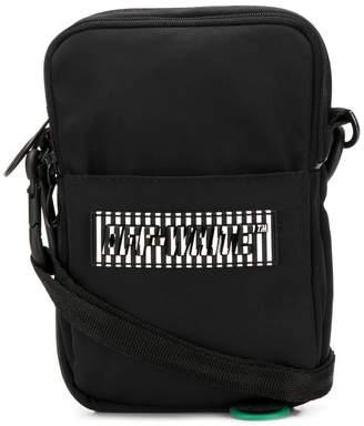 Off-White logo shoulder bag