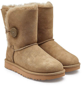 UGG Mini Bailey Button Shearling Lined Suede Boots e7ef1dd6ab
