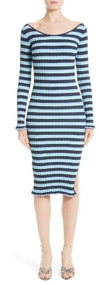 Women's Altuzarra Socorro Stripe Dress $995 thestylecure.com