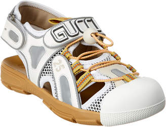 Gucci Tinsel Leather Sandal Sneaker