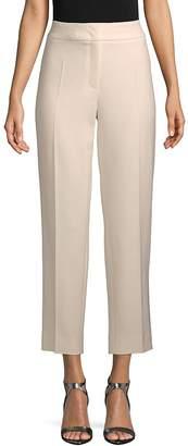 Escada Women's Tina Pleated Cropped Pants