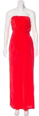 Thakoon Silk Strapless Dress