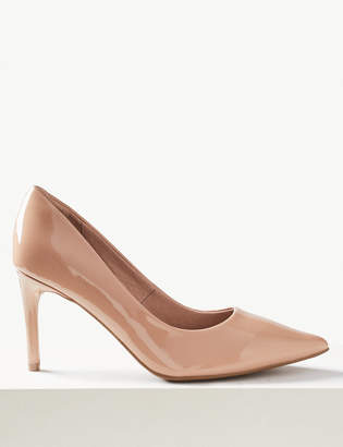 90915681439 M S CollectionMarks and Spencer Stiletto Heel Court Shoes