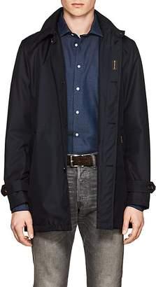 Moorer Men's Tech-Twill Hooded Jacket