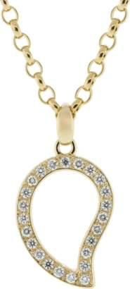 Tamara Comolli Large Diamond Pave Signature Pendant