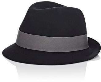 Hat Attack HAT ATTACK WOMEN'S SHORT-BRIM FEDORA $89 thestylecure.com