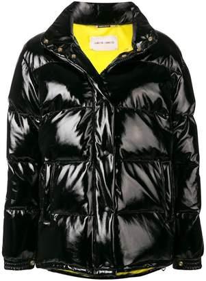 Alberta Ferretti high collar puffer jacket