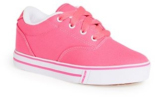 Girl's Heelys 'Launch' Canvas Sneaker $49.95 thestylecure.com