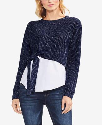 Vince Camuto Layered-Look Sweatshirt