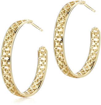 At Goldsmiths Birks Muse Mesh Hoop Earrings