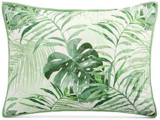 Martha Stewart Collection Palm Fronds 100% Cotton Standard Sham