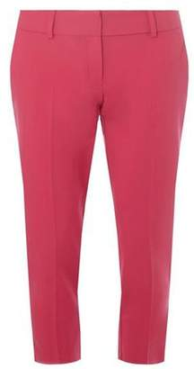 Dorothy Perkins Womens Petite Pink Ankle Grazer Trousers