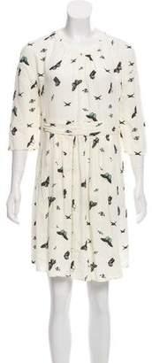 BA&SH Printed Mini Dress w/ Tags
