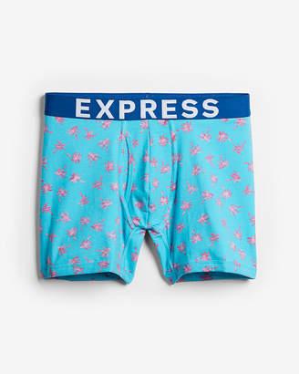 Express Palm Tree Print Boxer Briefs