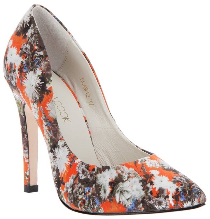 Emma Cook Floral Printed shoe
