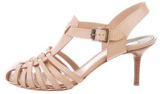 Chloé Leather Caged Sandals