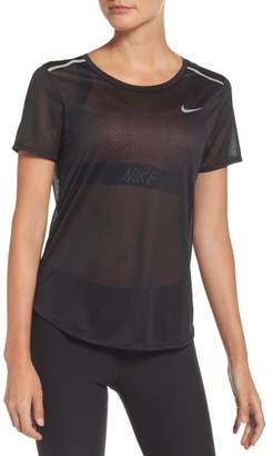 Women's Nike Breathe Running Tee $55 thestylecure.com