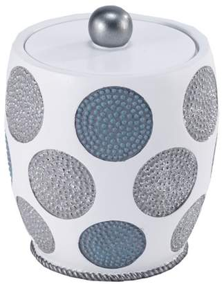 Avanti Linens Dotted Circles Shower Storage Jar
