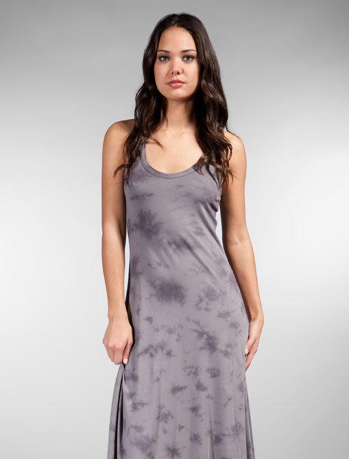 Bobi Tie-Dye Jersey Maxi Dress