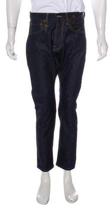 R 13 The Ian Cropped Skinny Jeans