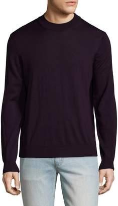 Toscano Men's Wool Mockneck Sweater