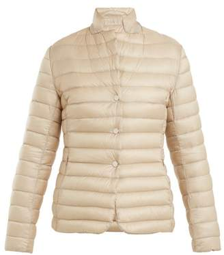 Moncler - Oplae Quilted Down Jacket - Womens - Beige